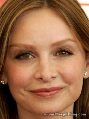 Morph Baby Picture on Calista Flockhart   Morphthing Com