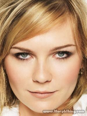 Kirsten Dunst Face